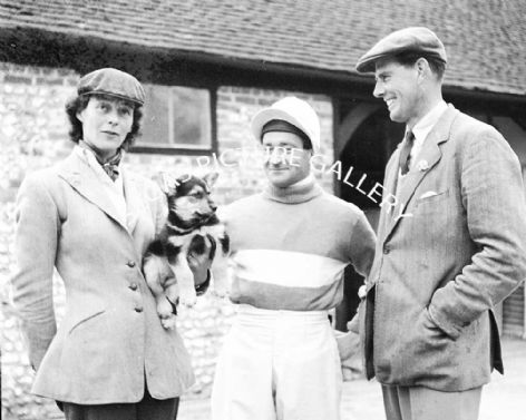 Fred Winter (Jump Jockey) with 2 others